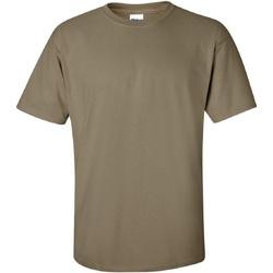 Textiel Heren T-shirts korte mouwen Gildan Ultra Prarie Stof