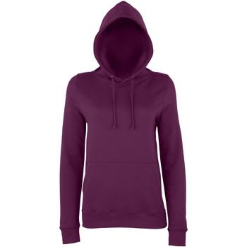 Textiel Dames Sweaters / Sweatshirts Awdis Girlie Pruim