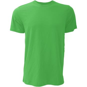 Textiel Heren T-shirts korte mouwen Bella + Canvas CA3001 Kelly Groen