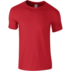 Textiel Kinderen T-shirts korte mouwen Gildan 64000B Rood