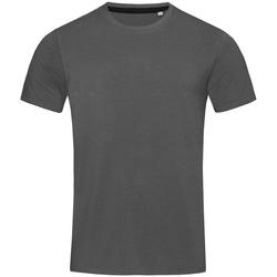Textiel Heren T-shirts korte mouwen Stedman Stars  Leisteengrijs