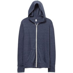 Textiel Heren Sweaters / Sweatshirts Alternative Apparel AT002 Eco True Navy