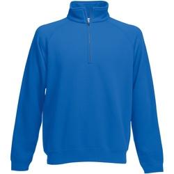 Textiel Heren Sweaters / Sweatshirts Fruit Of The Loom SS830 Royaal Blauw