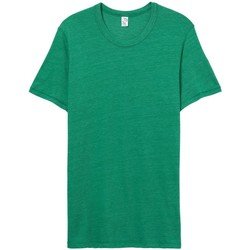 Textiel Heren T-shirts korte mouwen Alternative Apparel AT001 Eco True Green