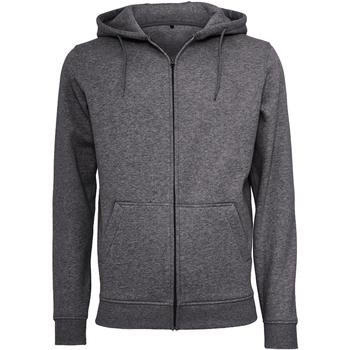 Textiel Heren Sweaters / Sweatshirts Build Your Brand BY012 Houtskool