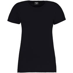 Textiel Dames T-shirts korte mouwen Kustom Kit Superwash Marineblauw