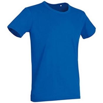 Textiel Heren T-shirts korte mouwen Stedman Stars Stars King Blauw