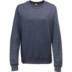 Textiel Dames Sweaters / Sweatshirts Awdis JH045 Marine Heide