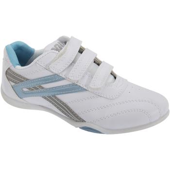 Schoenen Dames Lage sneakers Dek Raven Wit/lichtblauw