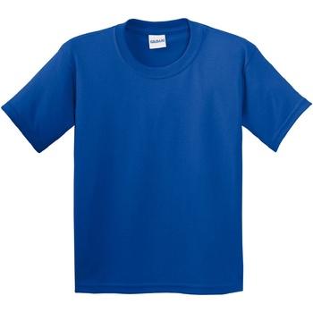 Textiel Kinderen T-shirts korte mouwen Gildan 64000B Koninklijk