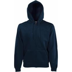 Textiel Heren Sweaters / Sweatshirts Fruit Of The Loom SS822 Donker Marine