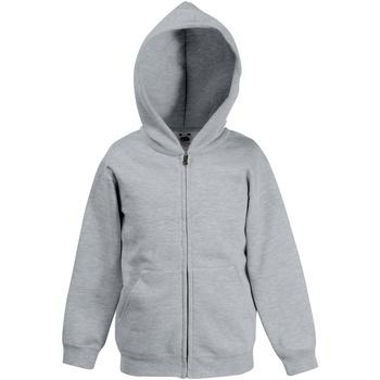 Textiel Kinderen Sweaters / Sweatshirts Fruit Of The Loom SS825 Heather Grijs