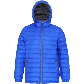 Textiel Heren Dons gevoerde jassen 2786 TS016 Koninklijk/Grijs