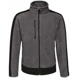 Textiel Heren Fleece Regatta RG423 Afdichting Grijs/Zwart