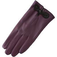 Accessoires Dames Handschoenen Eastern Counties Leather  Paars/Zwart