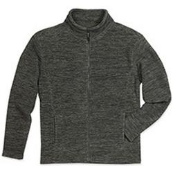 Textiel Heren Fleece Stedman  Anthra Melange