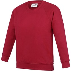 Textiel Kinderen Sweaters / Sweatshirts Awdis  Rood