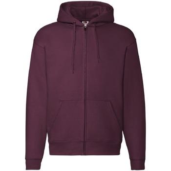 Textiel Heren Sweaters / Sweatshirts Fruit Of The Loom 62034 Bordeaux