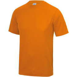 Textiel Heren T-shirts korte mouwen Awdis JC001 Sinaasappelschilfers