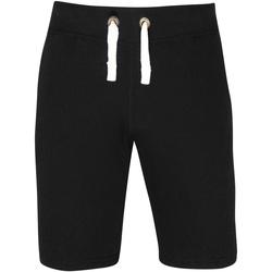Textiel Heren Korte broeken / Bermuda's Awdis JH080 Jet Zwart