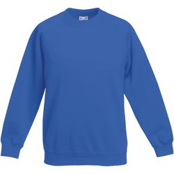Textiel Kinderen Sweaters / Sweatshirts Fruit Of The Loom 62039 Royaal Blauw