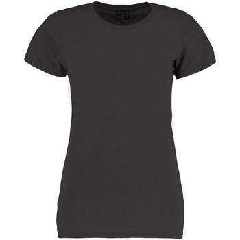 Textiel Dames T-shirts korte mouwen Kustom Kit Superwash Donkergrijs mergel