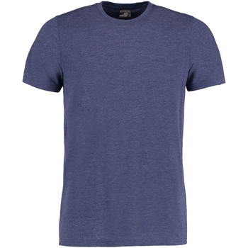 Textiel Heren T-shirts korte mouwen Kustom Kit KK504 Denim Marl