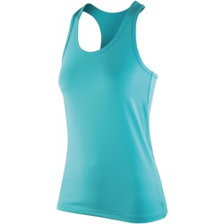 Textiel Dames Mouwloze tops Spiro SR281F Pepermunt
