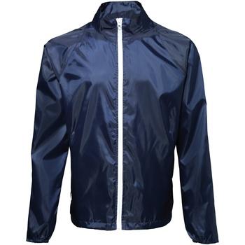 Textiel Heren Windjack 2786  Marine / Wit
