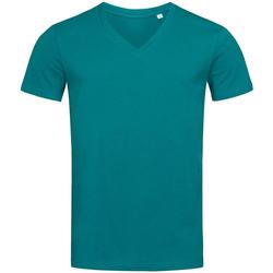 Textiel Heren T-shirts korte mouwen Stedman Stars  Donkerblauw