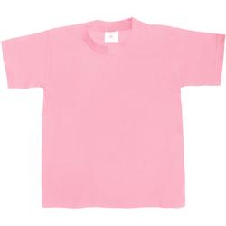 Textiel Kinderen T-shirts korte mouwen B And C TK301 Roze Zestiger jaren
