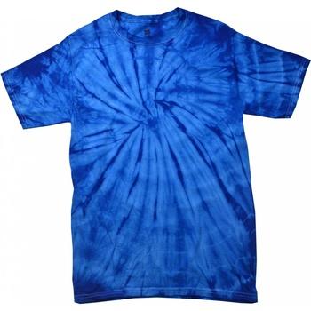 Textiel T-shirts korte mouwen Colortone Tonal Spider Royal