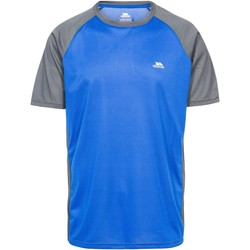 Textiel Heren T-shirts korte mouwen Trespass Talca Blauw