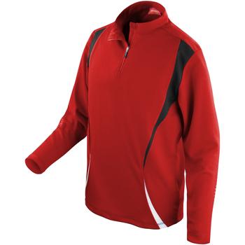 Textiel Trainings jassen Spiro S178X Rood/zwart/wit