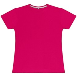 Textiel Dames T-shirts korte mouwen Sg Perfect Donkerroze