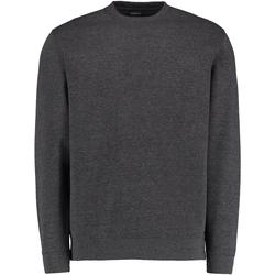 Textiel Heren Sweaters / Sweatshirts Kustom Kit KK302 Donkergrijs mergel