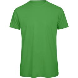 Textiel Heren T-shirts korte mouwen B And C TM042 Echt groen