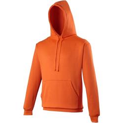 Textiel Sweaters / Sweatshirts Awdis JH004 Elektrisch Oranje