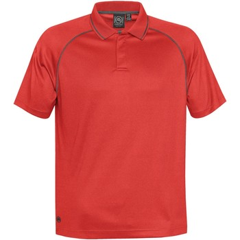 Textiel Heren Polo's korte mouwen Stormtech GPX-4 Helder rood/koolstof