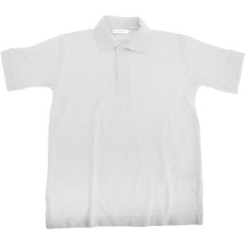 Textiel Jongens Polo's korte mouwen Kustom Kit KK406 Wit