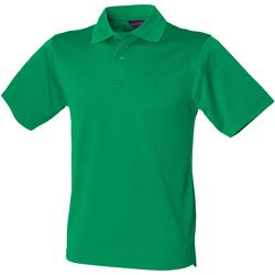 Textiel Heren Polo's korte mouwen Henbury HB475 Kelly Groen