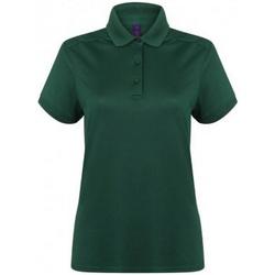 Textiel Dames Polo's korte mouwen Henbury HB461 Fles