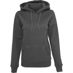 Textiel Dames Sweaters / Sweatshirts Build Your Brand BY026 Houtskool