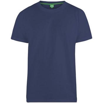Textiel Heren T-shirts korte mouwen Duke  Marine