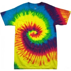 Textiel Kinderen T-shirts korte mouwen Colortone TD02B Regenboog