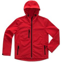 Textiel Heren Wind jackets Stedman  Rood