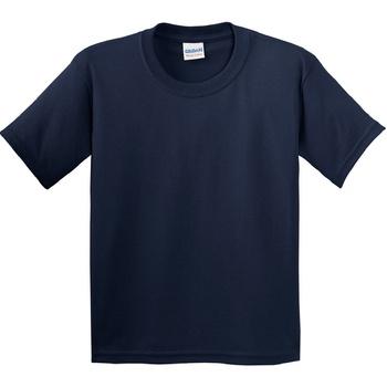 Textiel Kinderen T-shirts korte mouwen Gildan 5000B Marine