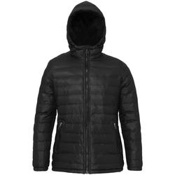 Textiel Dames Dons gevoerde jassen 2786 TS16F Zwart/Zwart