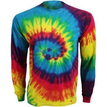 Textiel T-shirts met lange mouwen Colortone TD15M Regenboog