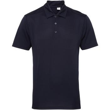 Textiel Heren Polo's korte mouwen Tridri TR012 Franse marine